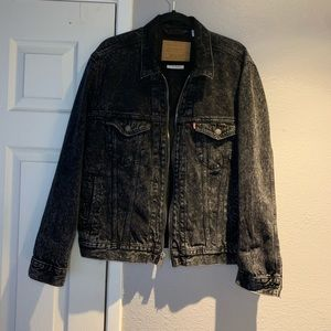 Levi's Zip Up Demin Jacket